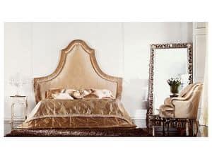 Athena, Doppelbett aus Holz mit großen Abmessungen