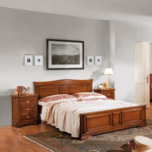 La Maison MAISON624T, Doppelbett mit geformtem Kopfteil
