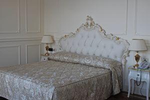 Luana Leder, Klassisches Bett mit Lederkopfteil