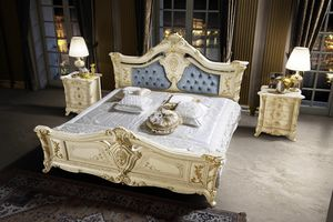 Madame Royale Bett, Wunderschönes geschnitztes Bett