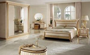 Melodia Schlafzimmer 1, Klassischer Luxus Schlafzimmer, für Villen und Hotels