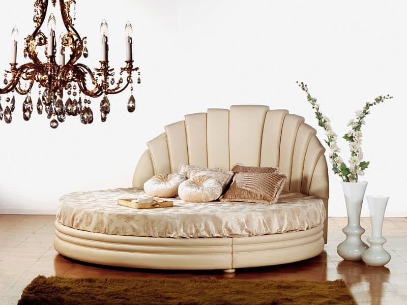Miro Tondo, Bett In Holz Schlafbereich
