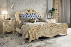 Opera Bett, Luxus klassisches Bett