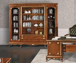 Art. 3000, Bücherregal mit Dornbuschdekorationen