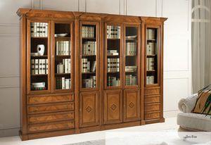Art. 3600, Bücherregal aus Walnuss