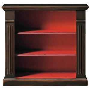 Emanuela FA.0102, Outlet-Bücherregal im klassischen Louis XVI-Stil