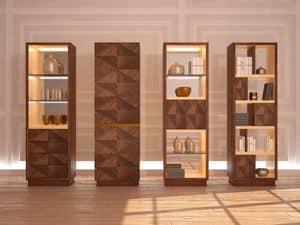 MB53 Desyo Schrank, Möbel für Wohnzimmer und Esszimmer in einem klassischen zeitgenössischen Stil