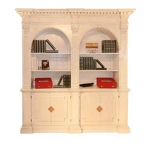 Montignoso ME.0129, Klassisches Bücherregal mit zwei Türen