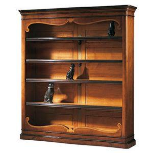 Perugino RA.0637, Outlet Bücherregal im klassischen Stil