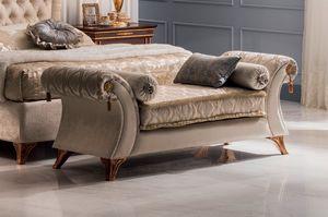 Modigliani chaise longue Vittoria, Chaiselongue für Schlafzimmer