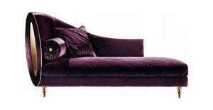 SIPARIO CHAISE LONGUE, Stoff Chaiselongue, klassischer Stil