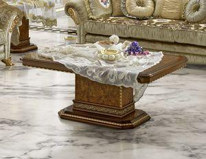 Aida coffee table, Eleganter Couchtisch für klassische Wohnzimmer