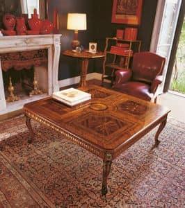 Art. 1178, Tabelle mit der Hand, handgeschnitzten, klassischen Design
