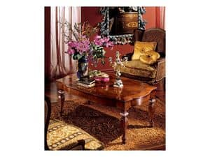 Complements coffee table 852, Rechteckiger Couchtisch für Wohnzimmer