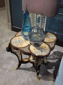 Couchtisch 5804, Klassischer Luxus-Couchtisch