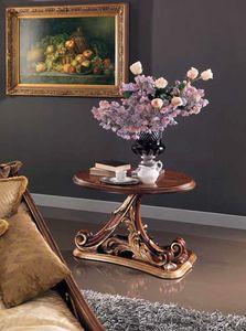Edenica kleiner Tisch, Handgeschnitzter Couchtisch aus Holz