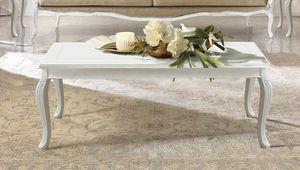 Giulietta Art. 3614 - 3714, Couchtisch mit eingelegter Platte