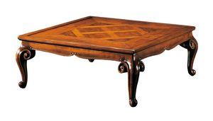 Pissarro RA.0687, Quadratischer Tisch im venezianischen Stil des 18. Jahrhunderts
