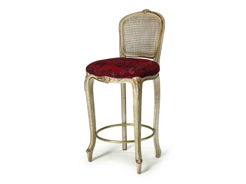Art.449 Hocker, Hocker mit fester Höhe, Luxus im klassischen Stil