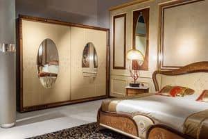 AR21 Arts zwei Türen Kleiderschrank, Kleiderschrank im Epochenstil für Luxus- Hotelzimmer