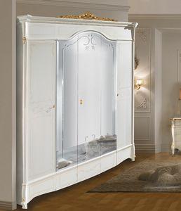 Diamante Art. 2514 - 2515, Kleiderschrank im klassischen Stil mit Spiegeln