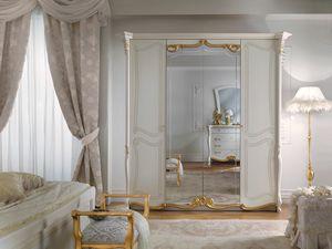Fenice Art. 1315, Eleganter Kleiderschrank im klassischen Stil