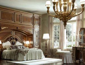 Luigi XVI Art. ARP03/L/440, Bridge Kleiderschrank für klassische Schlafzimmer