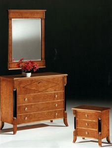 2460 Kommode, Kommode im Empirestil, für klassische Schlafzimmer