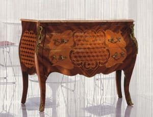Art. 338, Holzkomode dekorierter Holz, klassischen Stil gemacht