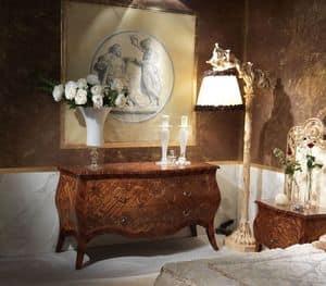 Art. 351, Kommode von Hand dekoriert Holz, klassischen Stil gemacht