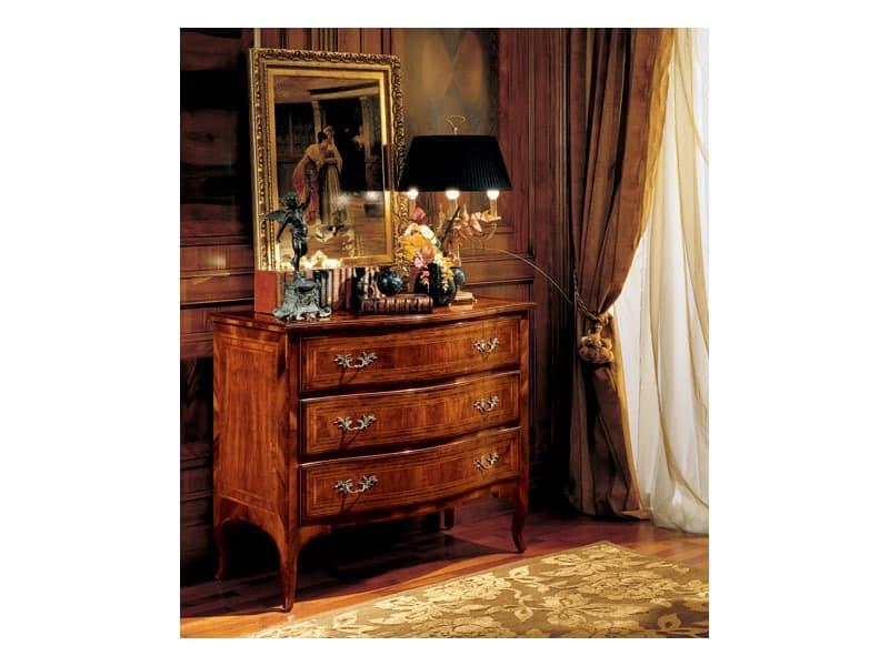 Gardenia chest of drawers 822, Luxus klassischen Kommode für Schlafzimmer