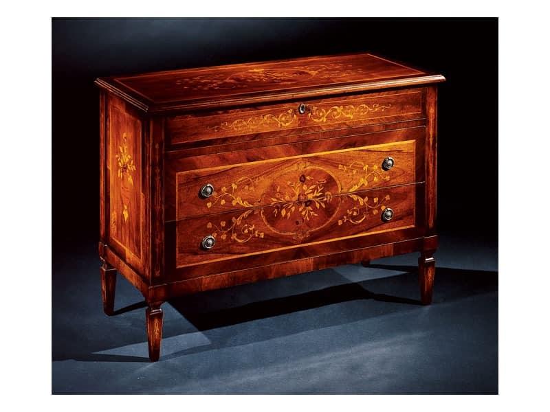 Maggiolini chest of drawers 701, Luxus klassischen Kommode