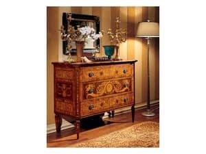 Maggiolini chest of drawers 702, Klassische Sideboard für Wohnzimmer