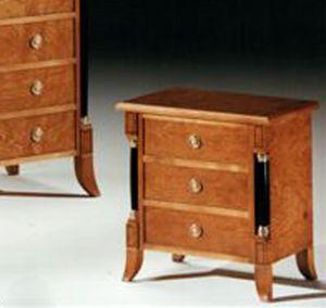 2460 Nachttisch, Nachttisch im Empirestil, für klassische Zimmer