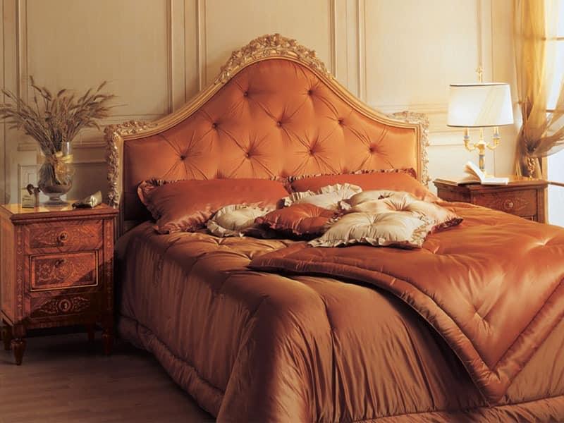 Art. 925 bedside table '700 Italiano Maggiolini, Antique Nachttische, Einlegearbeiten aus Holz, für luxuriöse Hotelzimmer