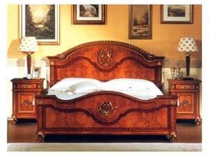 DUCALE DUCCO / Nachttisch, Nachttisch aus Grat Esche, klassischen Stil