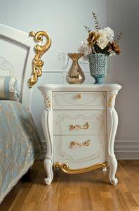 Fenice Art. 1306, Eleganter Nachttisch im klassischen Stil