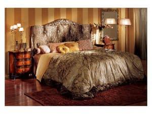 Florence bedside table 708, Eingelegte Nachttisch für Schlafzimmer