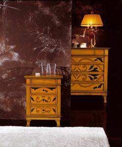 L'origine Nachttisch, Nachttisch mit originalen Einlagen