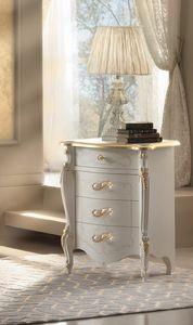 Rossini Art. 2506, Nachttisch mit goldenen Details