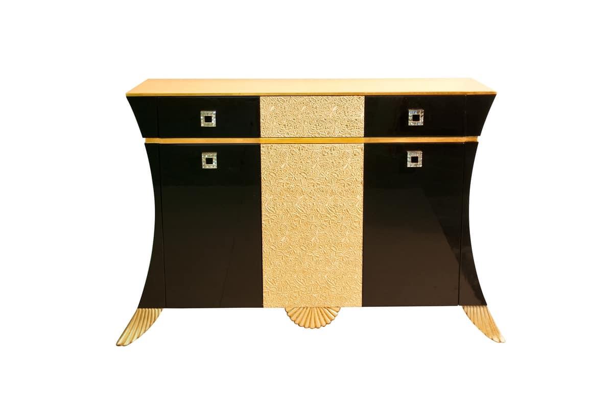 Art. 2906 Lace, Klassisches Sideboard mit schalenförmigen Dekorationen
