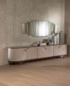 CR56K Mistral Sideboard, Belederte Sideboard, im klassischen zeitgenössischen Stil