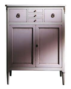 VS.4438, Nussbaum Sideboard mit 5 Schubladen und 2 Türen, für klassische luxuriöse Umgebungen