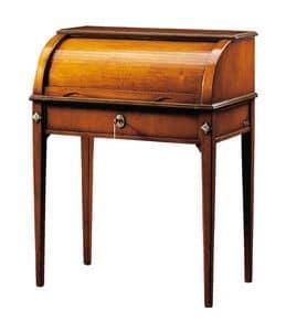 Andrea FA.0041, Roller Schreibtisch mit einer Schublade, im Stil Louis XVI