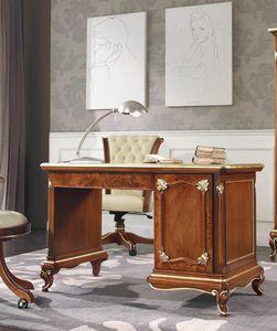 Art. 3092, Raffinierter Schreibtisch mit Schnitzereien