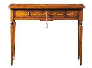 Biagio FA.0043, Schreibtisch im Maggiolini-Stil mit einer Schublade