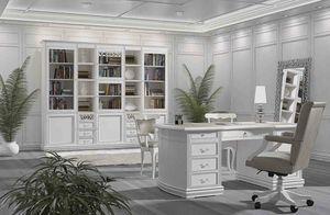 Fenice Schreibtisch, Lackierter Schreibtisch für repräsentative Büros