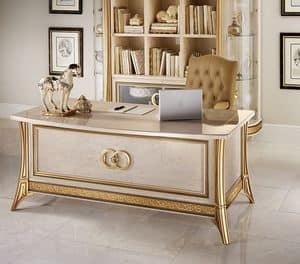 Melodia Schreibtisch, Schreibtisch, für klassische Büro