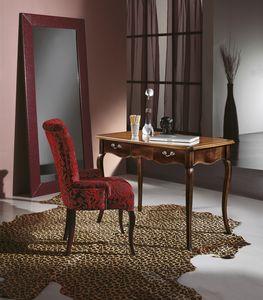 Schreibtisch 2 Schubladen, Schreibtisch im klassischen Stil
