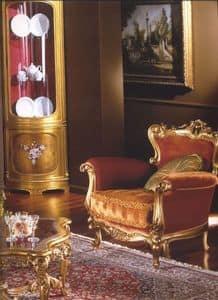 3195 SESSEL, Polstersessel für den klassischen Stil Wohnzimmer